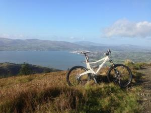 Rostrevor Mountain bike view