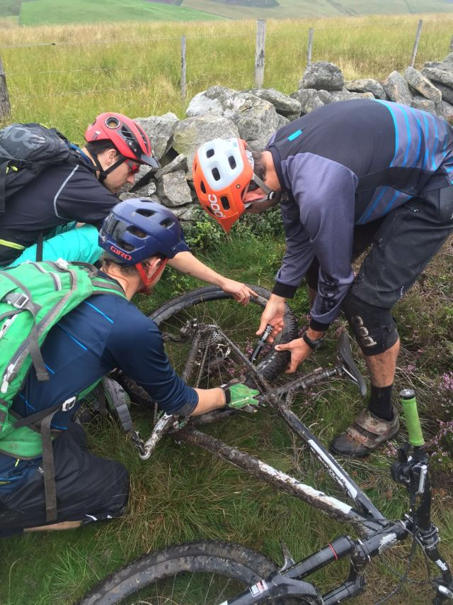How many MBL's does it take to fix a puncture?